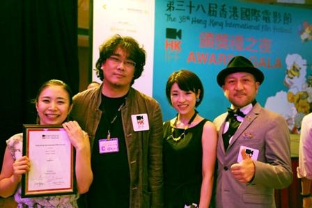 香港国際映画祭受賞